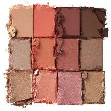 Nyx ultimate multifinish shadow palette warmrust 3